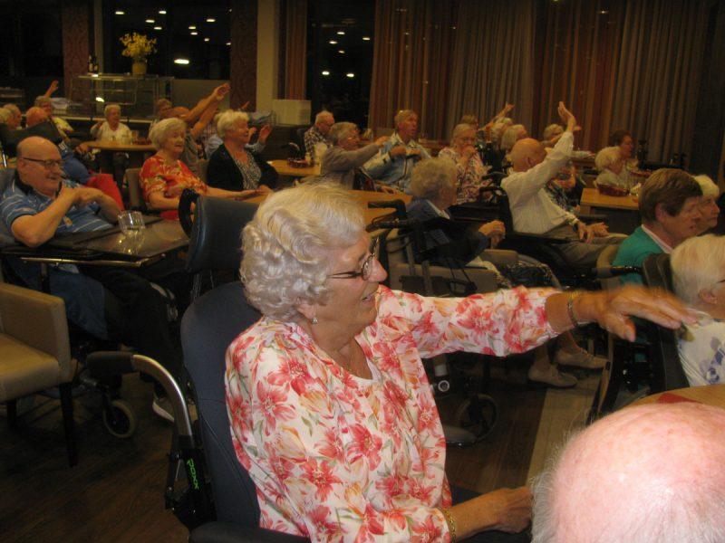 Optreden 6 september 2017 in Huis te Hoecke te Puttershoek.