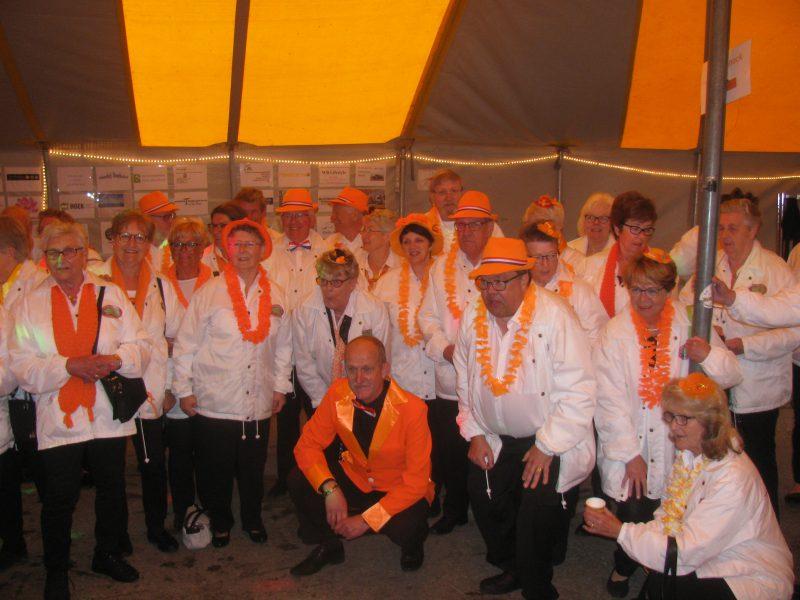 Verslag Oranjefeest in Goudswaard dd.28-04-2018