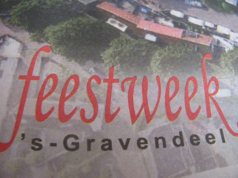 OPTREDEN TIJDENS DE 's GRAVENDEELSE FEESTWEEK dd. 31-08-2018