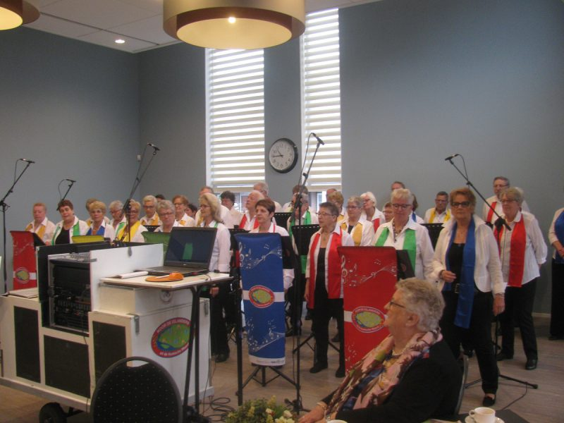 Optreden in Streona, het dorpshuis van Strijen d.d. 06-03-2019